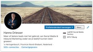 Linkedin omslag afmetingen