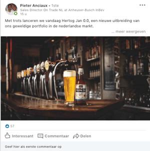 Linkedin berichten afbeelding afmetingen