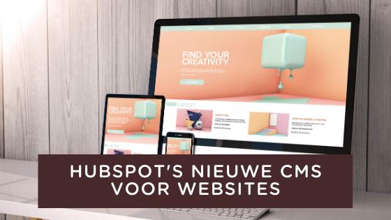 Hubspot;s nieuwe CMS voor websites